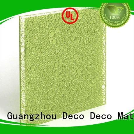 Quality polyester acoustic panels DECO-DECO Brand cranberry polyester resin panels