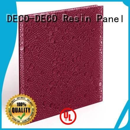 polyester acoustic panels thunder polyester resin panels DECO-DECO Brand