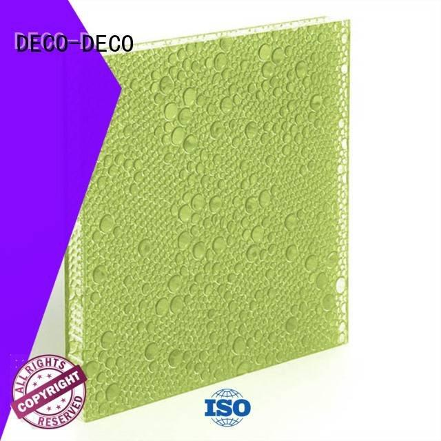 polyester acoustic panels atlantic DECO-DECO Brand polyester resin panels