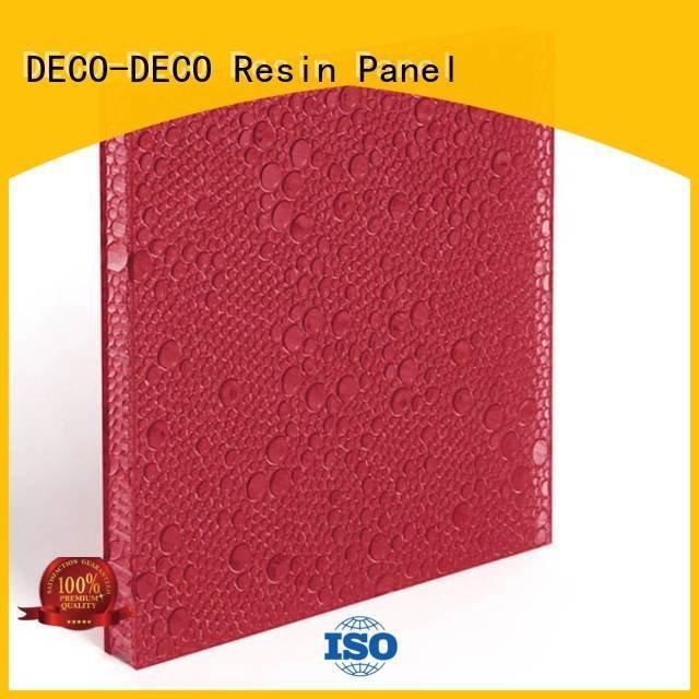 vapor root oat DECO-DECO polyester resin panels