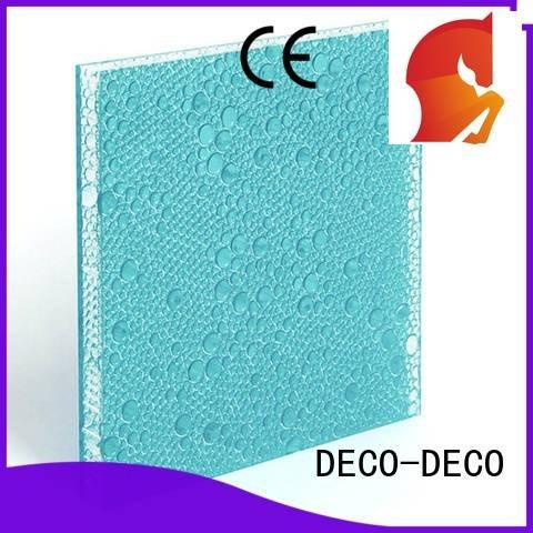 pop clear blush tai DECO-DECO polyester resin panels