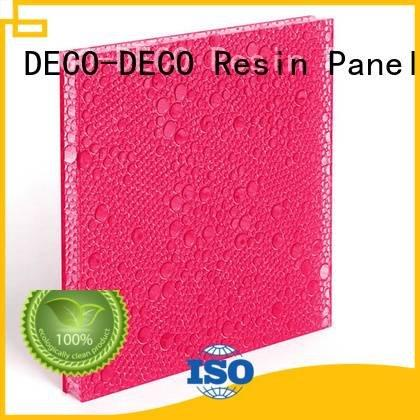 Hot polyester acoustic panels titanium glow clear DECO-DECO Brand