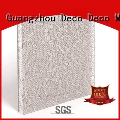 DECO-DECO Brand glow marsh polyester acoustic panels clear pomegranate