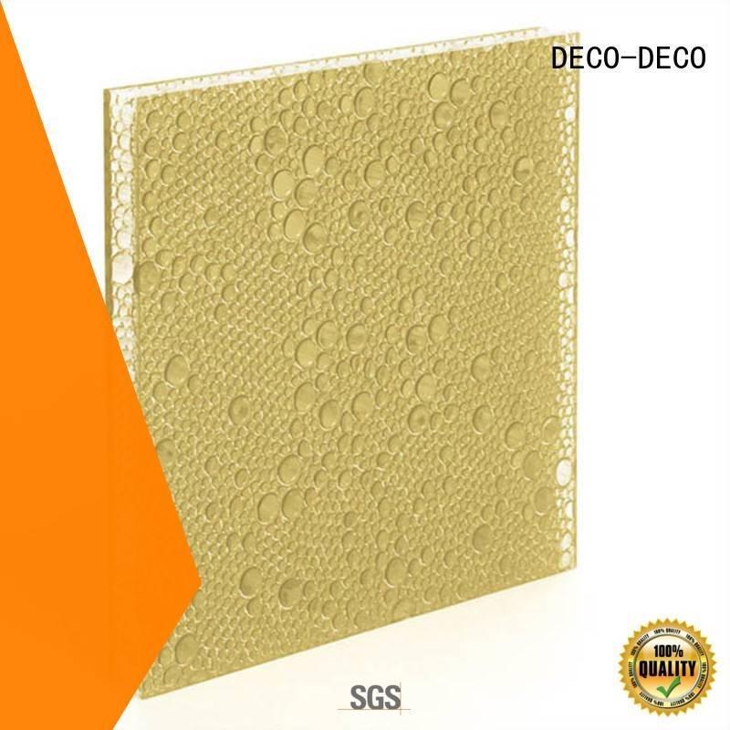 khaki lawn polyester acoustic panels DECO-DECO