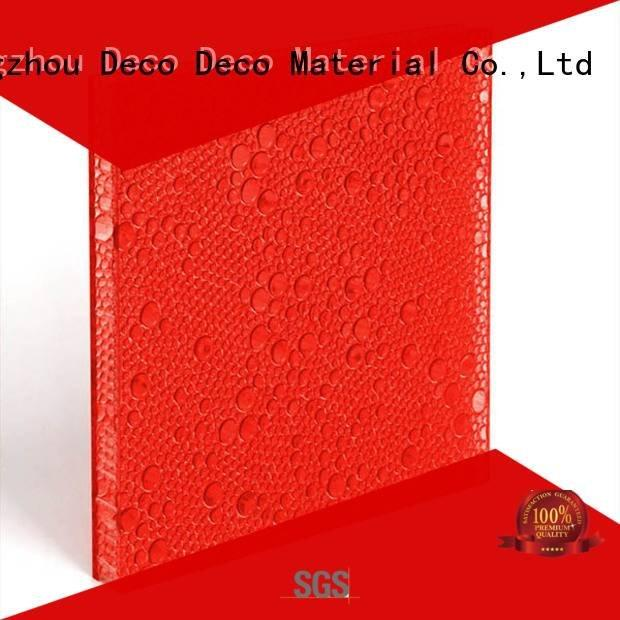 DECO-DECO Brand bark sable persimmon polyester acoustic panels