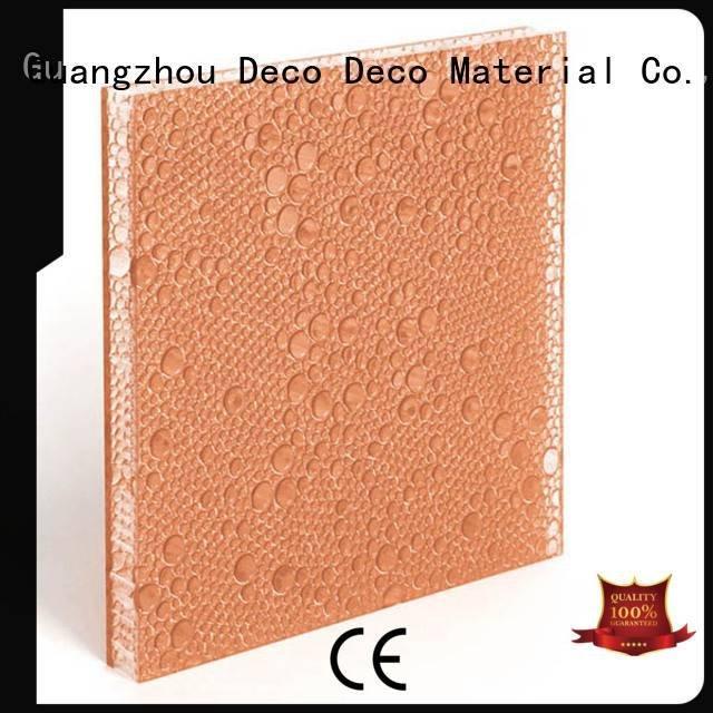 DECO-DECO polyester acoustic panels end indigo white