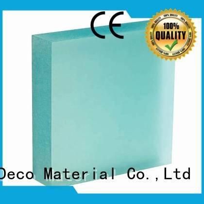 DECO-DECO rose translucent panels vapor ivory