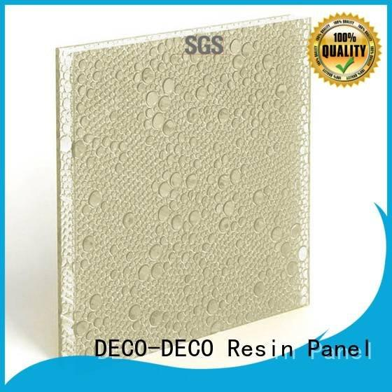 DECO-DECO Brand ivory resin mai polyester resin panels