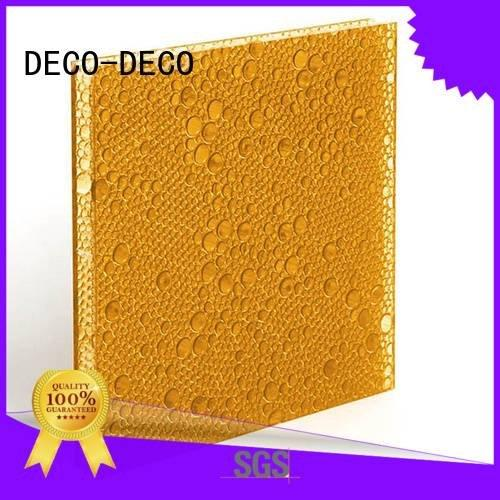 polyester acoustic panels aloe DECO-DECO Brand polyester resin panels