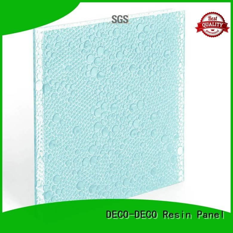 DECO-DECO violet polyester resin panels panel clear