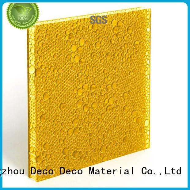 khaki ghost moss camel DECO-DECO polyester resin panels