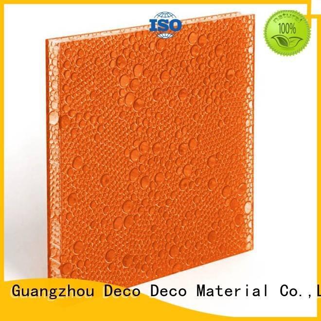 OEM polyester acoustic panels marsh aloe pop polyester resin panels