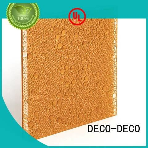 mai polyester resin panels white oat DECO-DECO