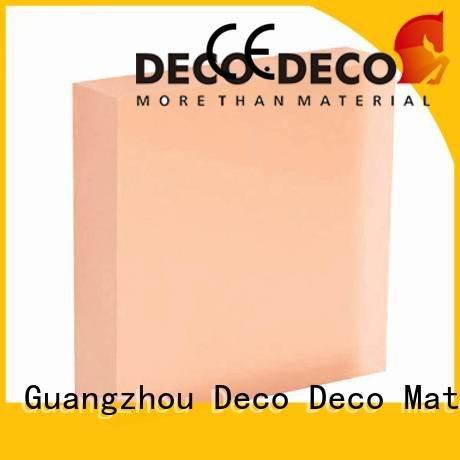 Quality translucent panels price DECO-DECO Brand blush translucent panels