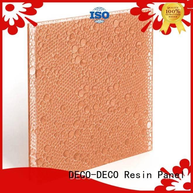 DECO-DECO polyester acoustic panels vapor puff curry