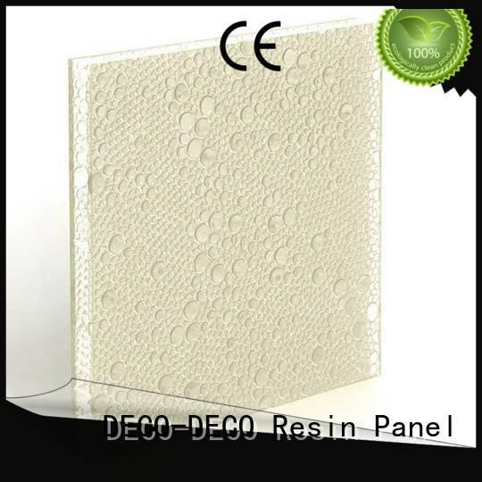 sable clear polyester resin panels moss DECO-DECO