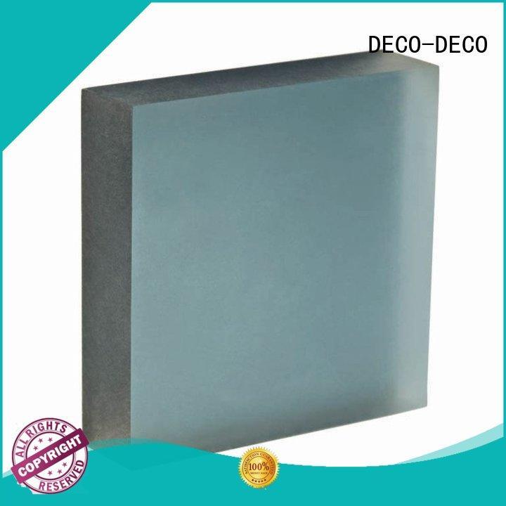 DECO-DECO acrylic translucent panels supplier for home decoration
