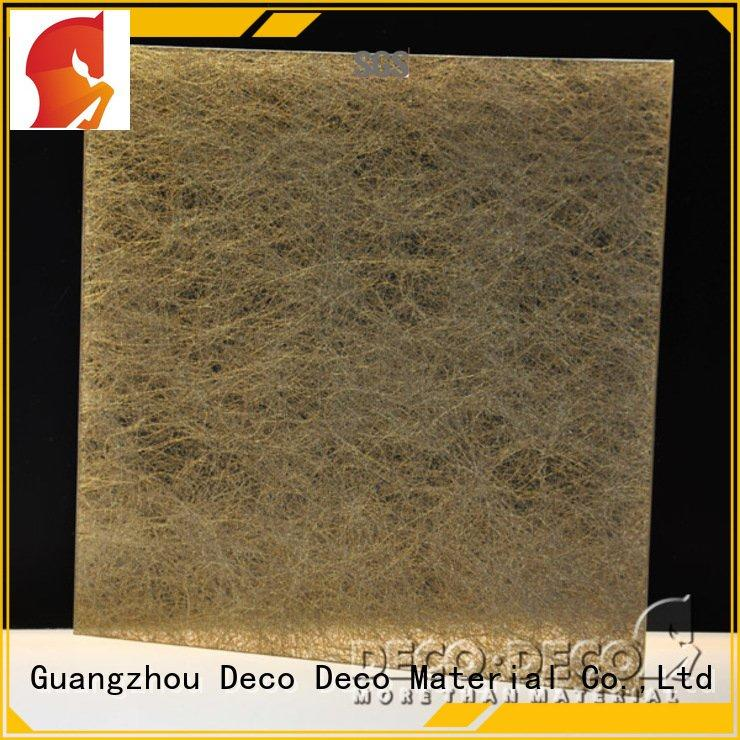 snowfall Fiber resin panels DECO-DECO smooth frp panels