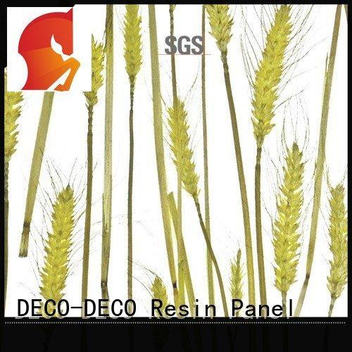 decorative translucent panels poppy ochid decorative wall panels DECO-DECO Brand