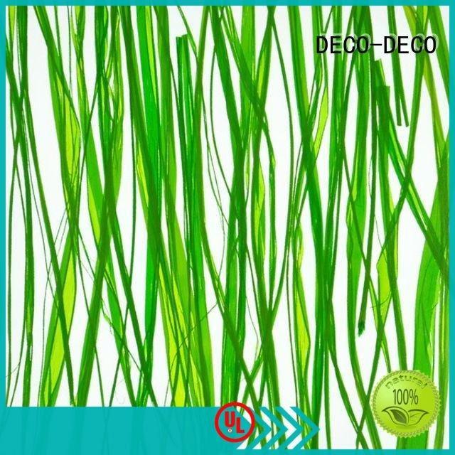 decorative translucent panels gingle poppy DECO-DECO Brand