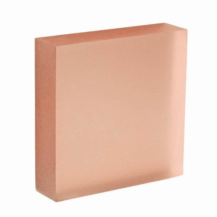 translucent acrylic panel Blush