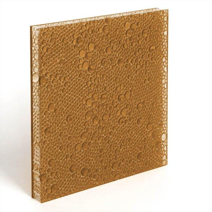 translucent resin panel Bark