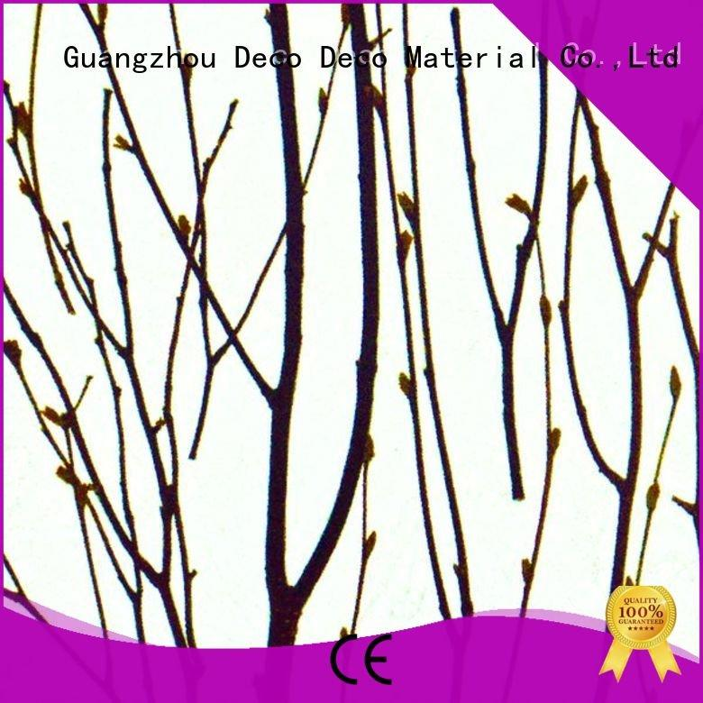 DECO-DECO decorative translucent panels seaweed blossom gingle