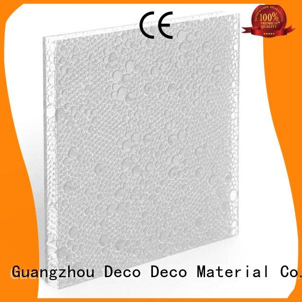 Wholesale root marigold polyester resin panels DECO-DECO Brand