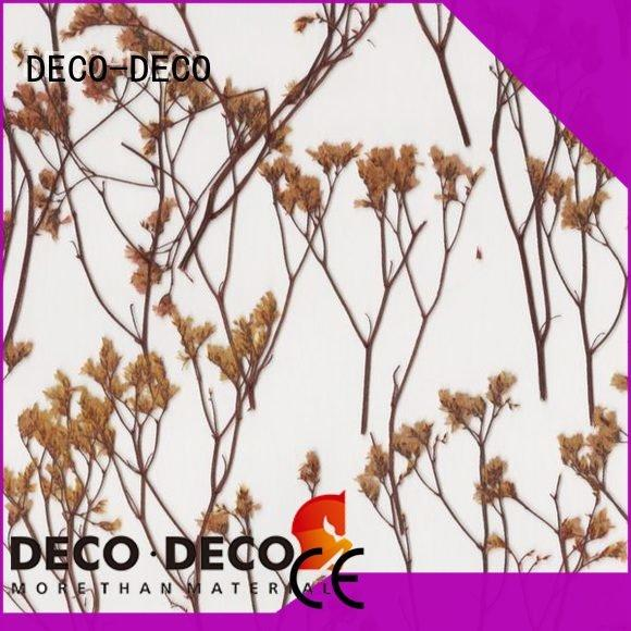 wheat lily reed DECO-DECO decorative translucent panels