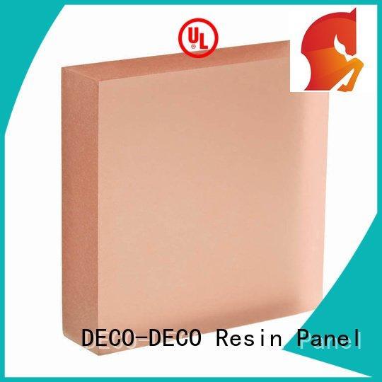 DECO-DECO translucent panels price vitamin eggplant acrylic camel
