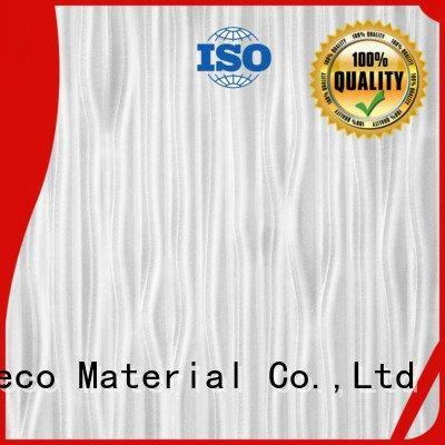 DECO-DECO gold textured resin PETG Panels strip