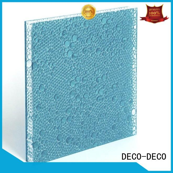 DECO-DECO creative polyester panels manufacturer for shopping mall