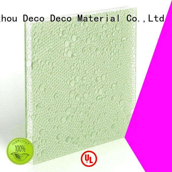 DECO-DECO Brand blush monsoon midnight polyester resin panels glow