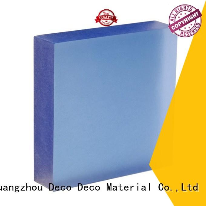 DECO-DECO acrylic translucent resin supplier for shopping mall