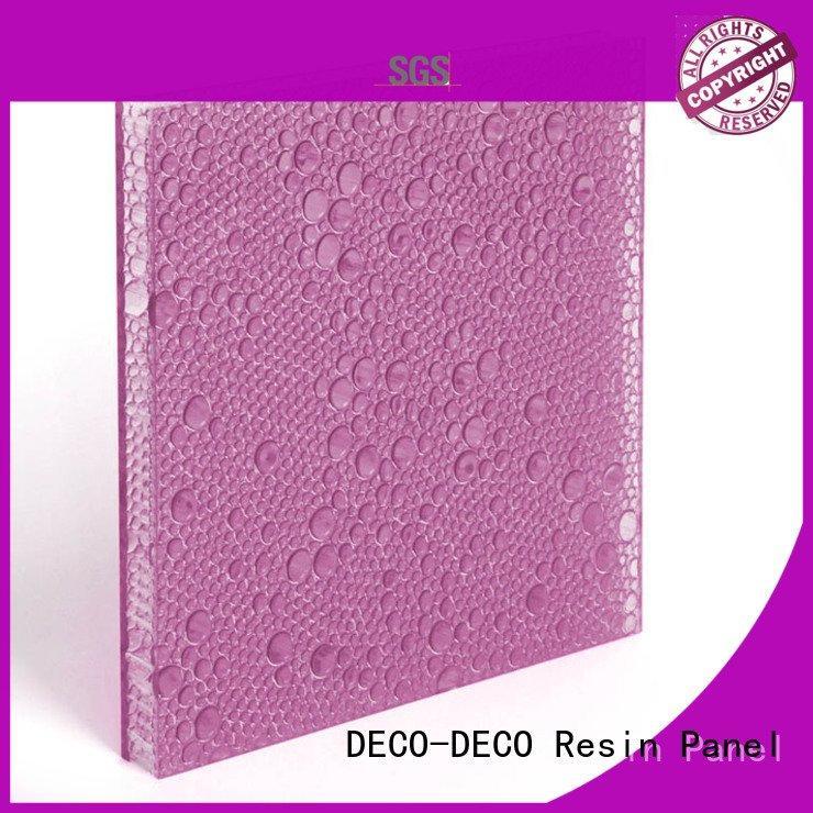 diva tai eggplant atlantic DECO-DECO polyester resin panels