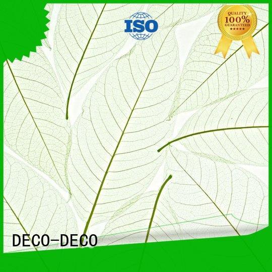 DECO-DECO Brand wood lily decorative translucent panels ochid panel