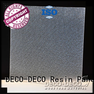Quality smooth frp panels DECO-DECO Brand snowfall Fiber resin panels