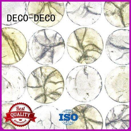 Metal resin panel grain shell OEM acrylic wall panels DECO-DECO