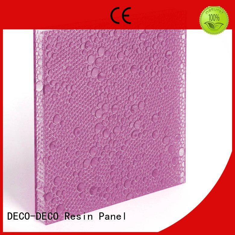 marigold indigo polyester acoustic panels DECO-DECO