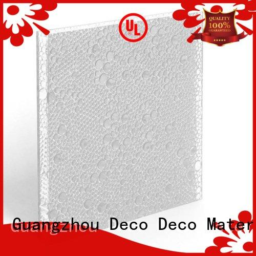 Hot polyester acoustic panels glow polyester resin panels ash DECO-DECO