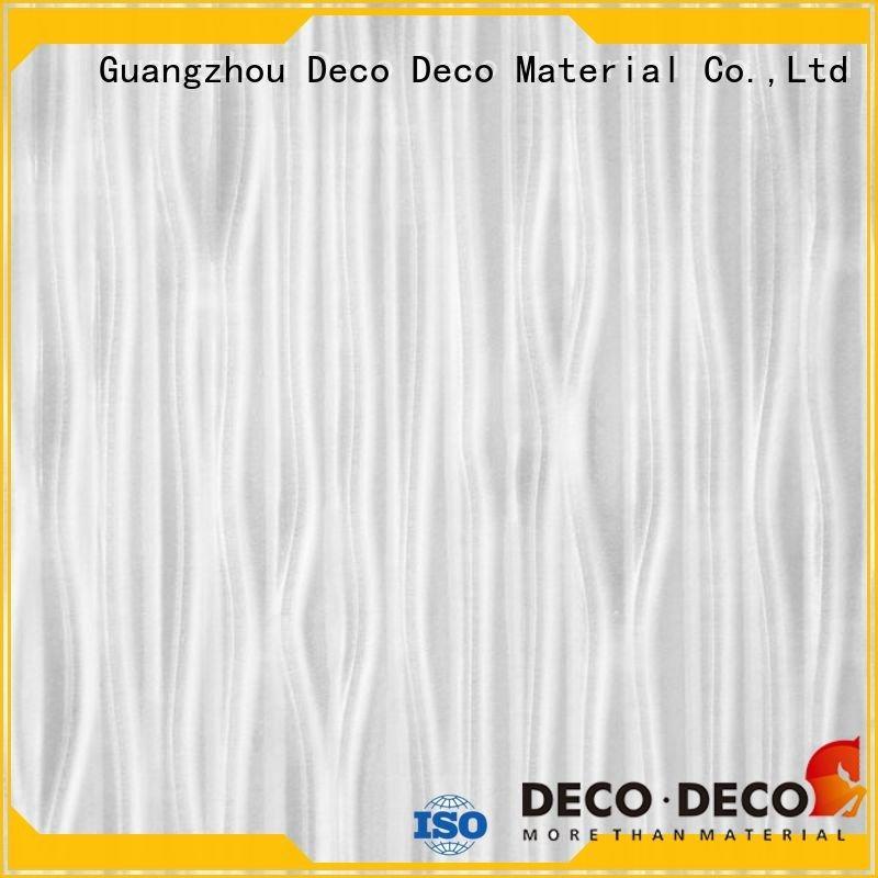 DECO-DECO Brand textured panel stream PETG Panels