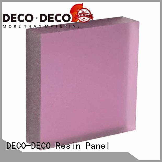 matt acrylic panelsorganic materialfactory direct supply for restaurant