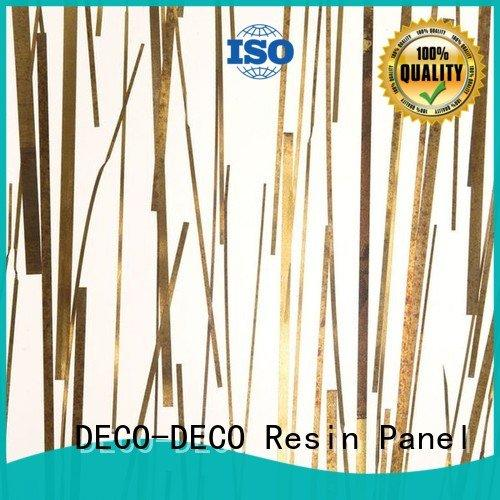 panel cryst form DECO-DECO Metal resin panel