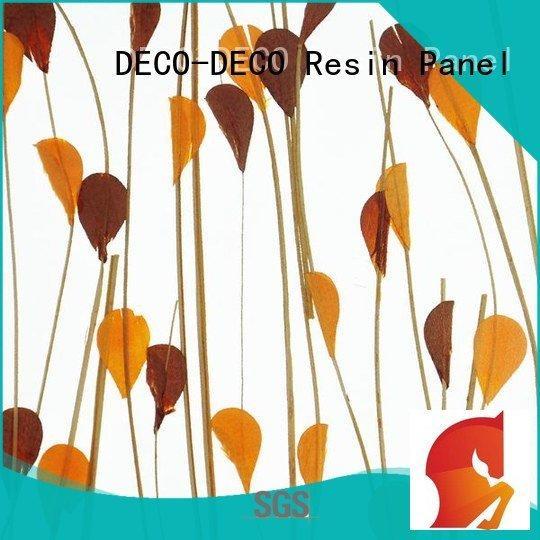 decorative translucent panels blossom birch DECO-DECO Brand