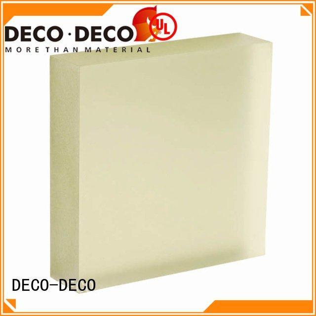 acrylic khaki bliss translucent DECO-DECO translucent panels price