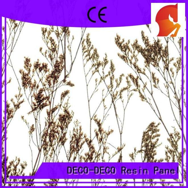 organic resin DECO-DECO decorative translucent panels