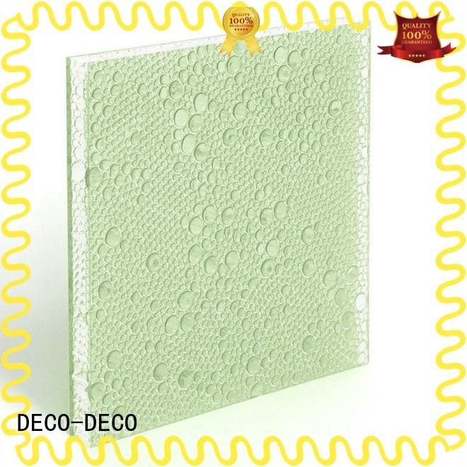 DECO-DECO recyclable polyester panels wholesale for shopping mall