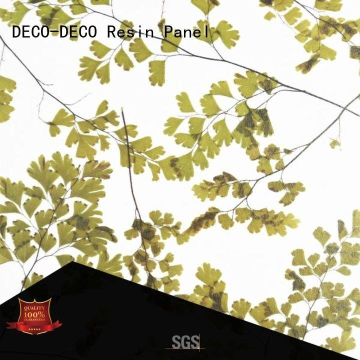 decorative translucent panels gingle seaweed wood reed DECO-DECO