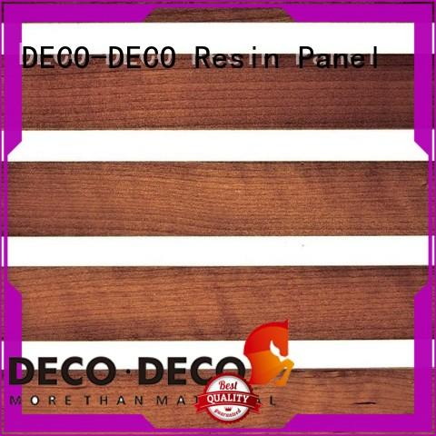 wood decorative plastic wall panels manufacturer for home decoration DECO-DECO