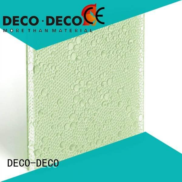 polyester acoustic panels end bliss polyester resin panels DECO-DECO Brand
